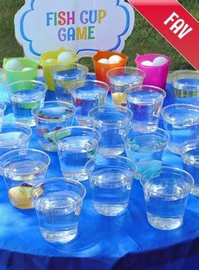 click     fish cup carnival game