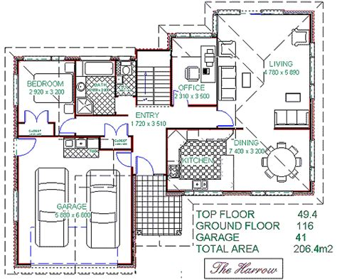 family house plans collection    meter square
