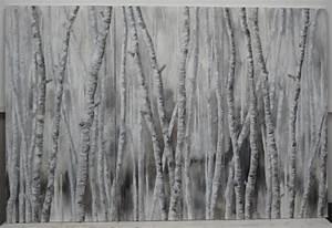 Papier Peint Arbre Noir Et Blanc : papier peint arbres bouleau ~ Nature-et-papiers.com Idées de Décoration