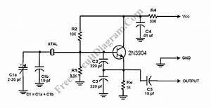 Colpitts Crystal Oscillator  U2013 Circuit Wiring Diagrams
