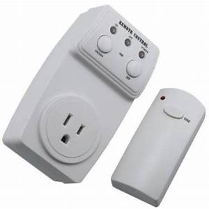 Remote Control Outlet Wireless Ac Power Outlets Light