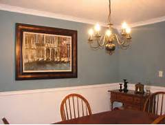 Paint Ideas For Dining Room by Pics Photos Painting Dining Room With Chair Rail With Mirror Frame