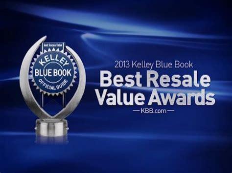 2013 Best Resale Value Award Winners Announced By Kelley