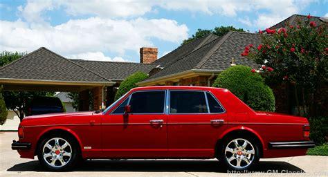 Bentley Turbo R History Photos On Better Parts Ltd