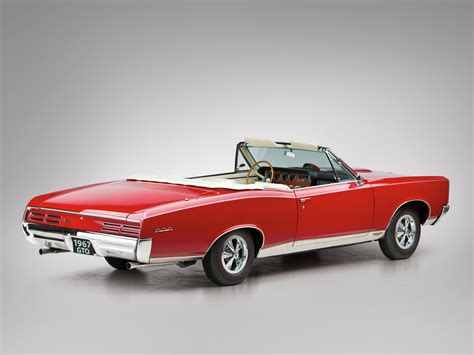1967 pontiac tempest gto convertible muscle classic f