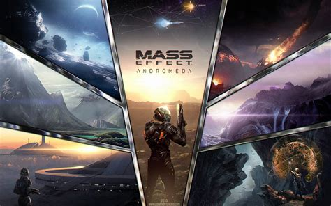 wallpaper mass effect andromeda  games pc ps