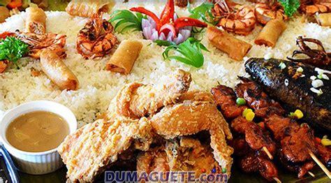 phil cuisine food in dumaguete city negros
