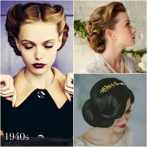 1940s Wedding Hairstyles by Vintage Wedding Hairstyles A Brief History Percy Handmade