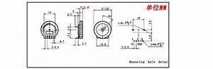 B102 1k 16x2 8mm Duplex 5 Dial Volume Potentiometer Worm