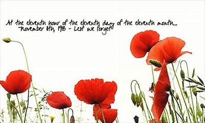 Remembrance Forget Sunset Lest Anzac Poppies Glow