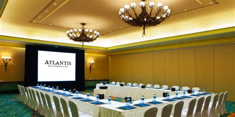 atlantis  palm dubai event spaces prestigious venues