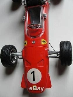 Clockwork engine and control work properly. Schuco Ferrari Formel Formula 2 #1073 Vintage Race Car