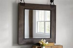 15 best industrial mirrors for your loft apartment With barn style mirrors