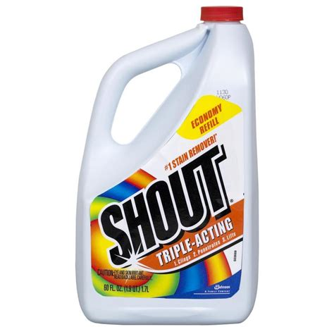 Laundry Stain Removers America S by Shop Shout 60 Fl Oz Laundry Stain Remover At Lowes