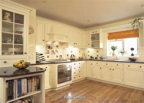 Black Cupboards Kitchen Ideas by Fitted Cupboards With Black Granite Worktops In