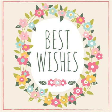 best wishes for best wishes