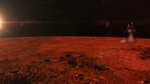 Mars Landing Of A Spacecraft Stock Footage Video 5860916 ...