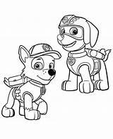 Paw Patrol Zuma Coloring Rocky Pages Colour Kit Getcolorings Template Printable Pups Sketch Getdrawings Colorings sketch template