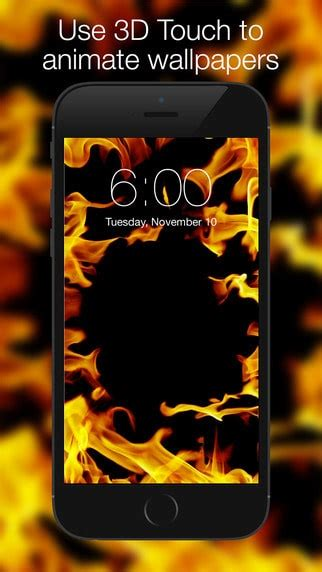 iphone apps offering  touch  wallpapers