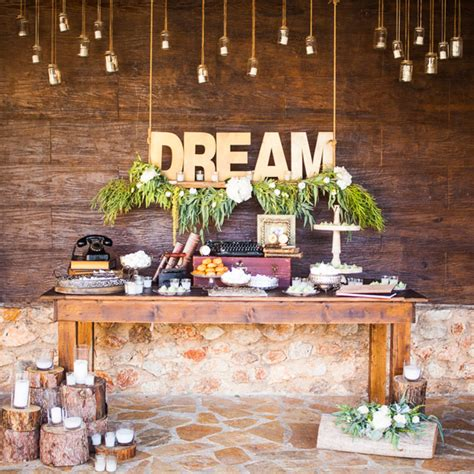 rustic garden wedding ideas with rosemary helena