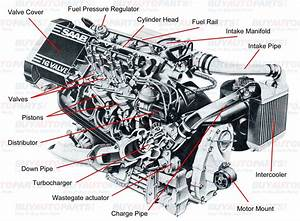 Diagram Of Car Part