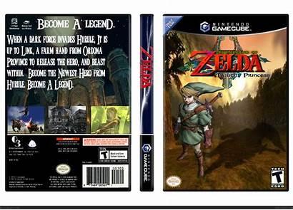 Twilight Zelda Princess Legend Box Gamecube Gcn