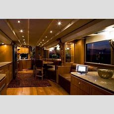 Dazzling Luxury Mobile Home Interior With Exclusive Design