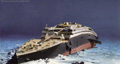 Titanic Boat Location by Titanic Wreck Color Titanic Wreck Pinterest Titanic