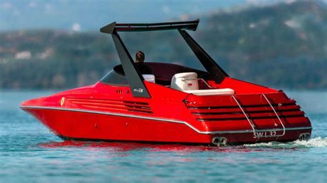 Piero ferrari may come from a car background, but he also has a passion for boats. Remember That Time Ferrari Made A Twin-V8 Speedboat? | Motorious
