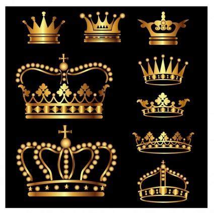 Crown King Mahkota Raja Bandana gold crown set free adobe illustrator ai ai