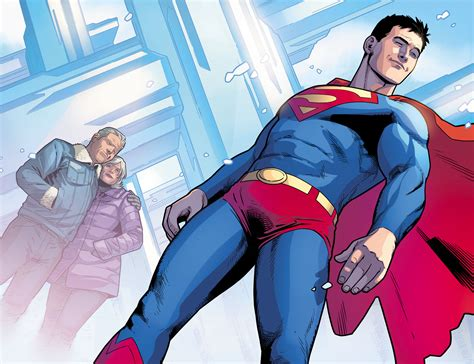 Superboy Dons The Superman Costume Injustice