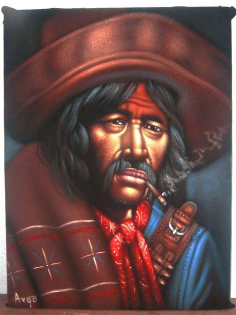 Spaghetti Western Bandit art Original Oil Painting Art