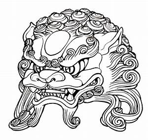 Foo Dog head by mostlymade on DeviantArt