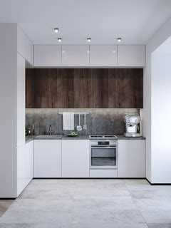 studio apartment modern kitchen frankfurt