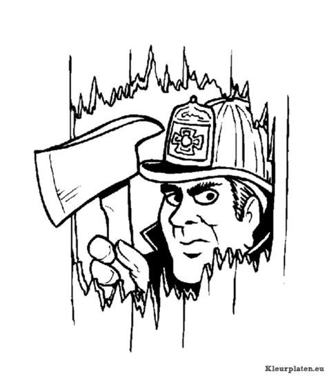 Brandweer Sirene Kleurplaat by Brandweer Kleurplaat 50561 Kleurplaat