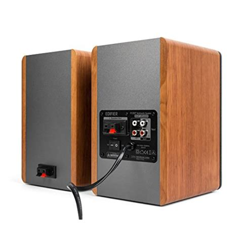 powered bookshelf speakers edifier r1280t powered bookshelf speakers 2 0 active