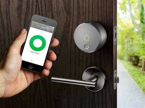 august door lock august s smart lock goes on and at apple
