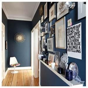 deco peinture entree couloir maison design bahbecom With idee couleur couloir entree 10 deco chambre bleu decoration chambre bleu et orange