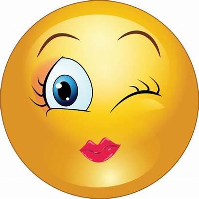 Emoji Clipart Smiley Face Winky Clip Wink