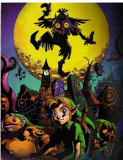 Zelda Mask Legend Majora Majoras Wallpapers Skull