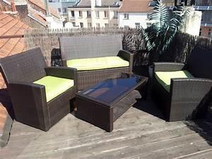 stunning salon de jardin aluminium carrefour photos With meuble de jardin carrefour belgique
