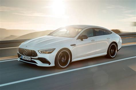 mercedes amg gt  door coupe revealed  geneva autocar