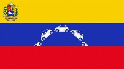 Flag Venezuela Venezuelan Animated Stars Autonomous Driving