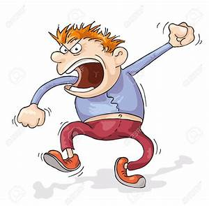 Angry Man Yelling Clipart - ClipartXtras