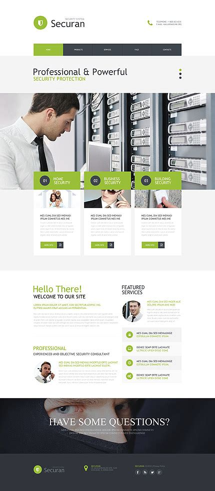 computer store muse template template 53038 ensegna themes