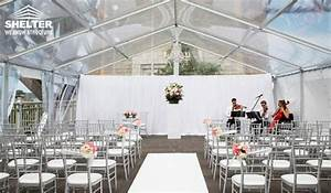 Clear Tent Sales For A Romantic Wedding Outdoor In A