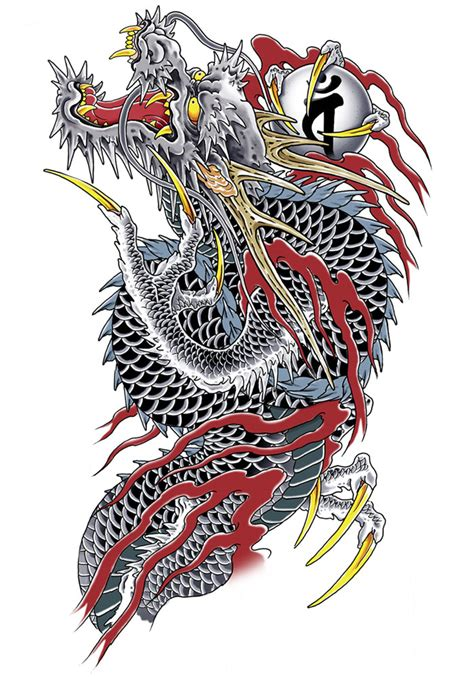 dragon yakuza jimmy tattoo