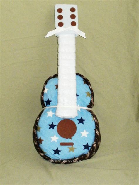 guitar diaper cake instructions projects