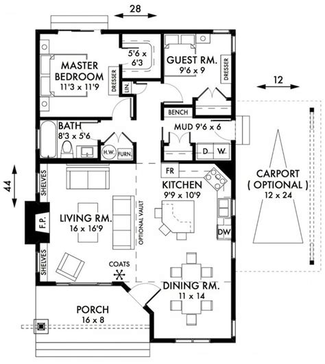 2 bedroom cottage plans awesome two bedroom house plans cabin cottage house plans