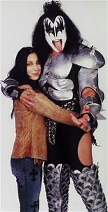Cher and Gene Simmons | Cher | Pinterest